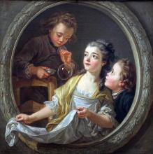 Bubble Fun for everyone! by Charles Amédée Philippe Vanloo