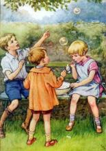 Bubble Fun for everyone! by Cicily Mary Barker