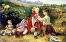 Do you like butter? Let me see! by Myles Birket Foster