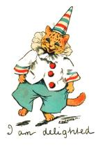 We're doing a Happy Dance! by Louis Wain
