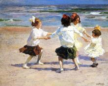 Ring around the Rosy! by Edward Henry Potthast